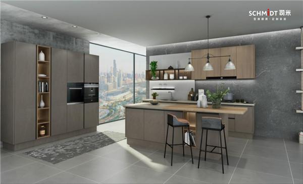 法国司米橱柜餐厨一体化设计,让家居生活的幸福感爆棚!